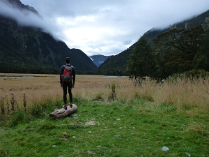 Routeburn Valley floor
